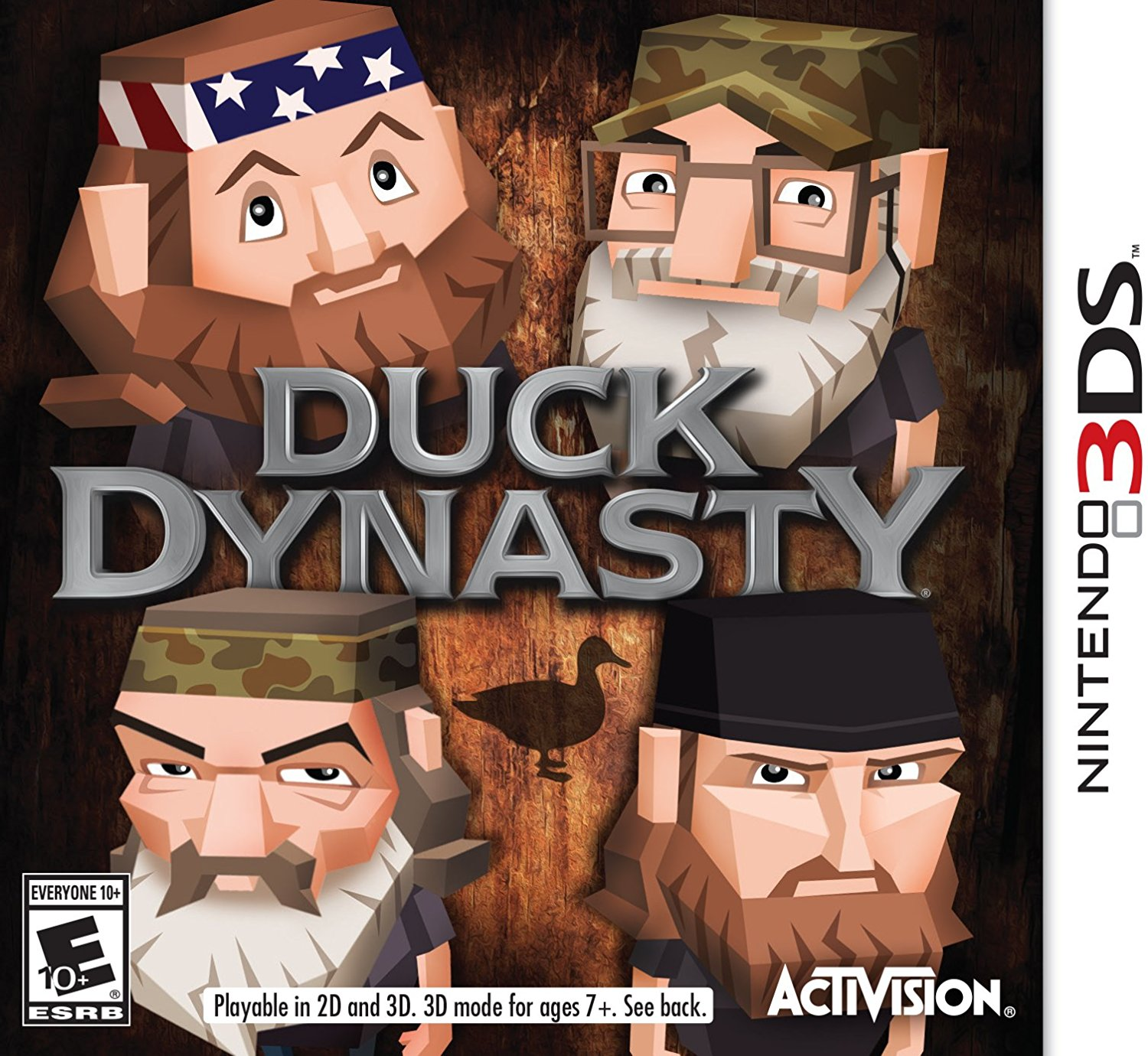 3DS: DUCK DYNASTY (BOX)